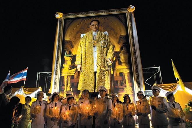Lễ hội Vua ở Thái Lan