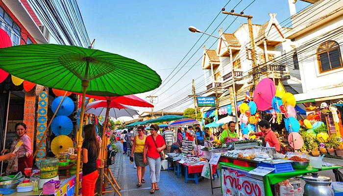 mua sắm ở Chiang Mai - Thái Lan