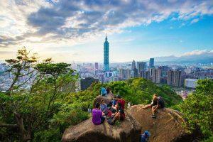 Núi voi – điểm ngắm Taipei, Đài Loan đẹp nhất từ trên cao