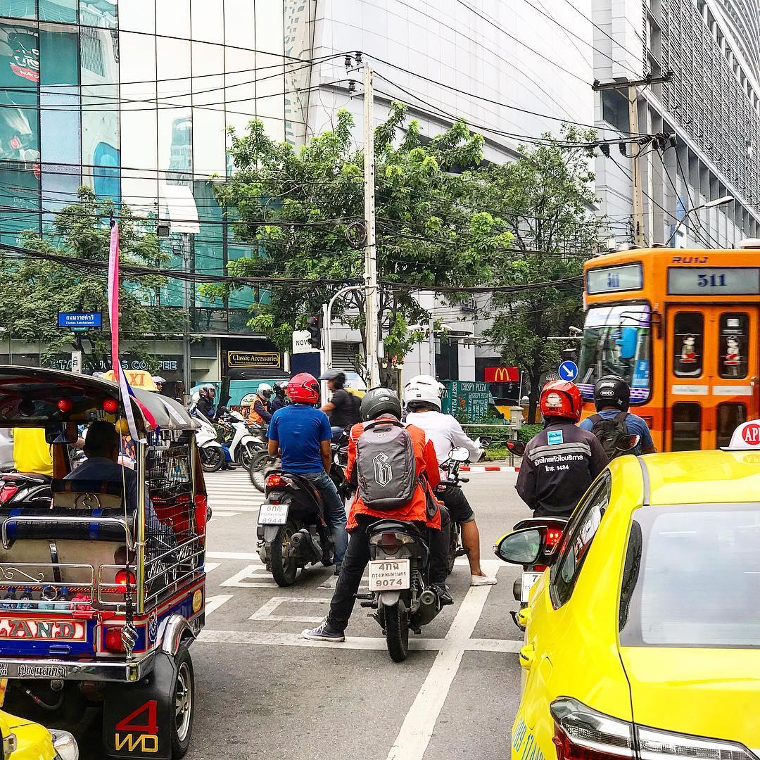 Thuê xe máy và trải nghiệm chạy xe đường dài ở Chiang Mai Thái Lan