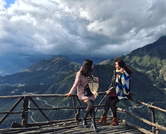 Đèo Ô Quy Hồ chính là điểm hẹn ngắm hoàng hôn đẹp nhất ở Sapa.