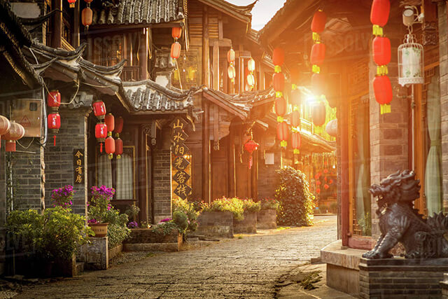 Thành Cổ hàng trăm năm tuổi Lệ Giang mang trong mình vẻ đẹp trầm mặc, cổ kính
