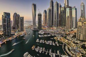 Bến du thuyền Dubai Marina có mức đầu tư tới 10 tỷ USD