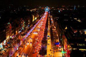 Khám phá đại lộ ánh sáng Champs – Elsees nước Pháp khi đi tour Châu Âu