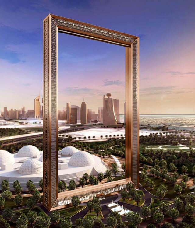 """Tòa tháp Dubai Frame được xem là """"khung ảnh"""" lớn nhất trên thế giới"""