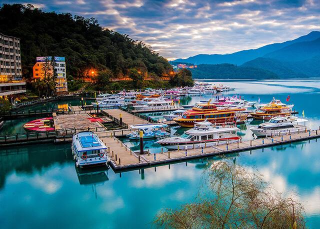 Cảnh sắc mê đắm lòng người ở Hồ Nhật Nguyệt, Đài Loan