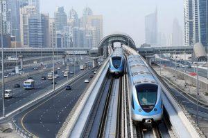 Tàu điện ngầm Metro Dubai không có người lái