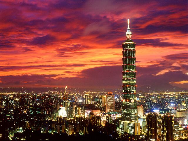 Tòa Taipei 101 biểu tượng của Đài Loan