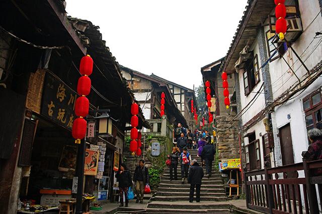 Cổ trấn Từ Khí Khẩu nghìn năm tuổi ở Trùng Khánh