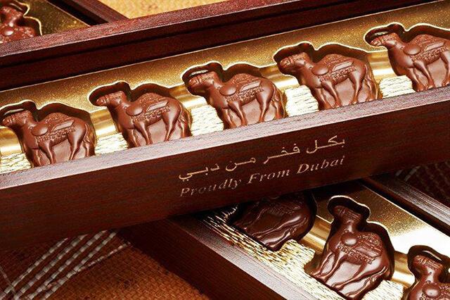 Không chỉ thơm ngon mà Socola Dubai còn có thiết kế rất sang trọng, thanh lịch