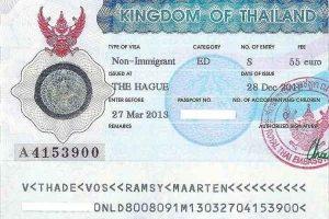 Xin visa, hộ chiếu khi đi du lịch Thái Lan quá 30 ngày