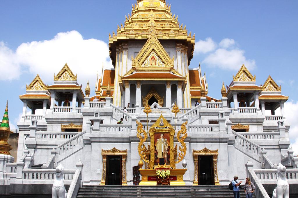 chùa Phật Vàng- Wat Traimit Bangkok