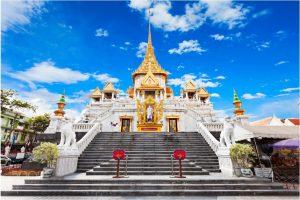 Khám phá chùa Phật Vàng- Wat Traimit Bangkok khi đi du lịch Thái Lan