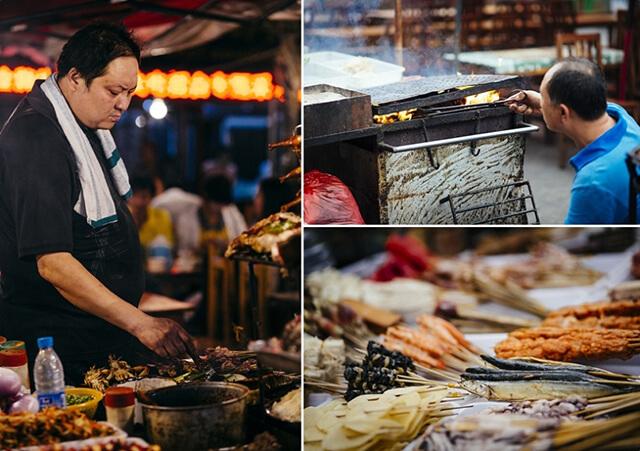 Ẩm thực đường phố Phượng Hoàng cố trấn cực kì đa dạng