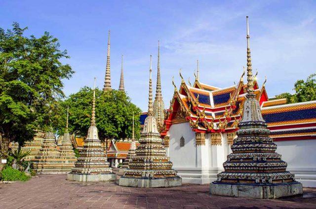 ngôi chùa Wat Pho Bangkok