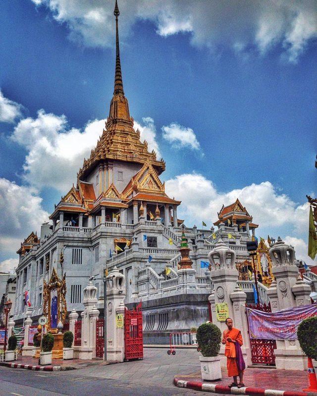 chùa Phật Vàng- Wat Traimit