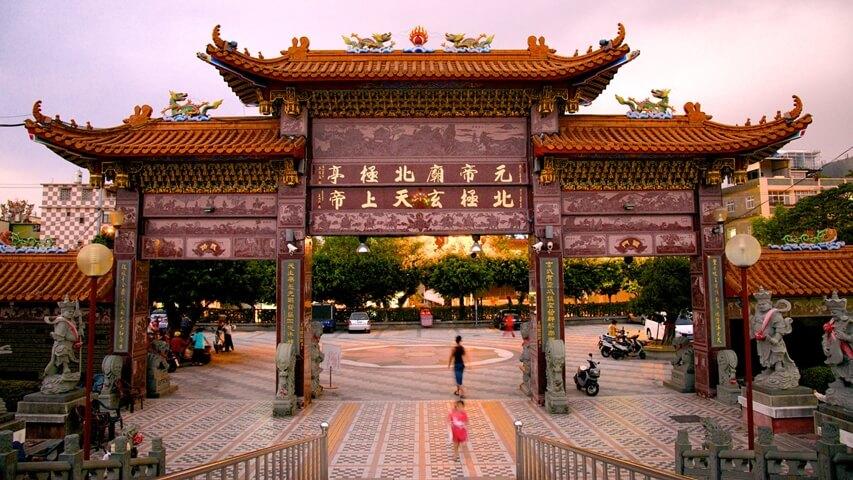 Đền Khổng tử ở cố đô Đài Nam