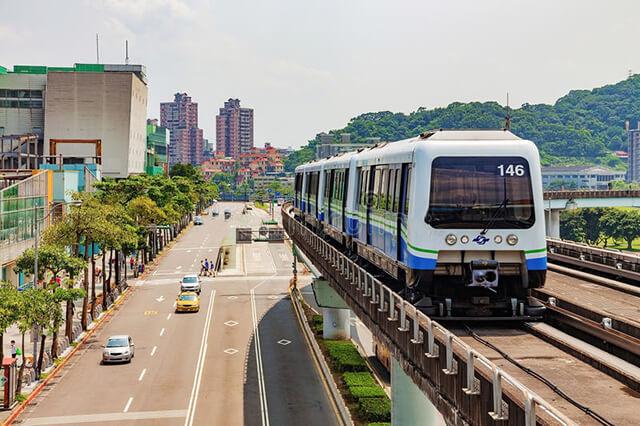 Phương tiện giao thông tại Đài Loan khá phát triển, thuận tiện cho việc đi lại