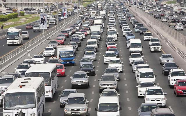 Tốc độ lái xe ở Dubai khá lớn