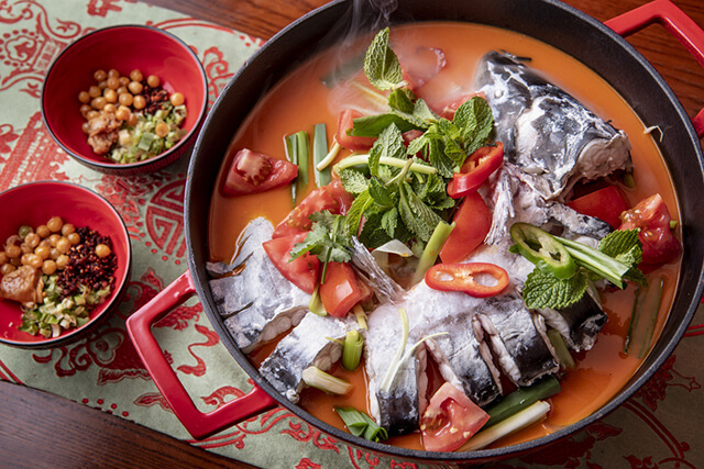 Súp cá cay là món ăn nổi tiếng và được ưa chuộng nhất tại Quý Châu