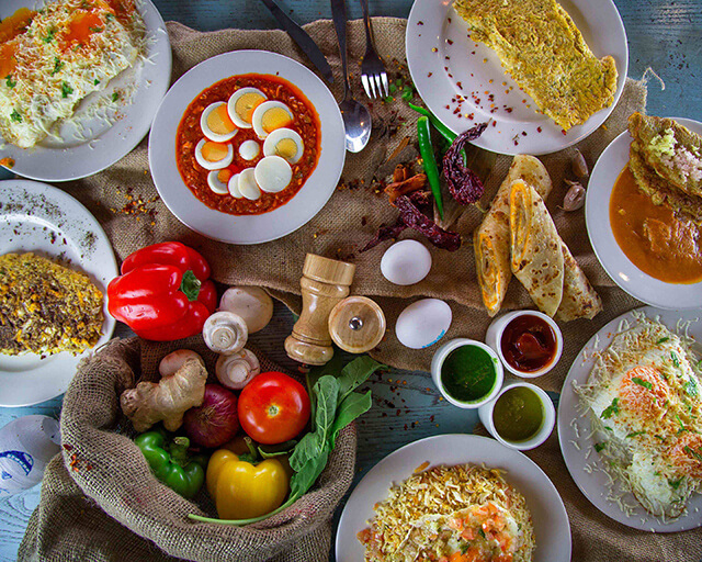 Rạu Omlet là nhà hàng chuyên phục vụ các món ăn được chế biến từ trứng