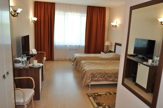Không gian phòng của Baccra Hotel