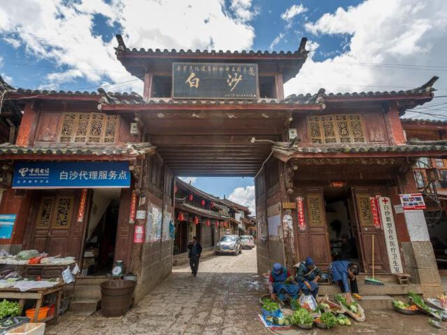 Bạch Sa cổ trấn – Khu phố cổ yên bình ở Trung Quốc