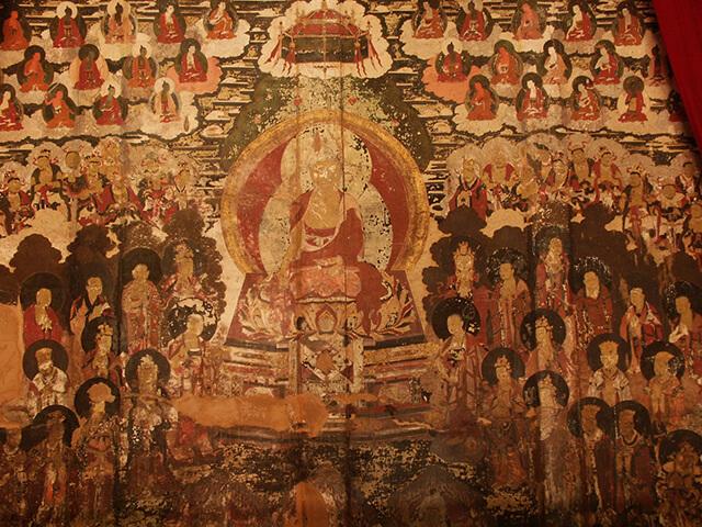 Bạch Sa cổ trấn nổi tiếng với những bức vẽ trên tường hơn 300 năm tuổi