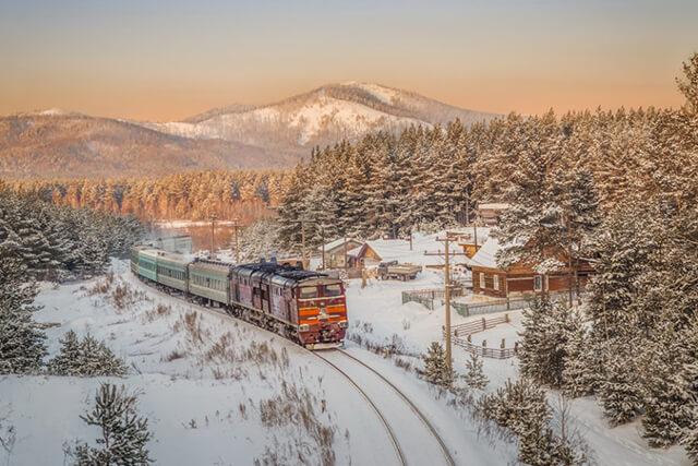 Nhiệt độ mùa đông nhiều nơi ở Nga có thể xuống -50 độ nhưng khung cảnh vẫn rất đẹp