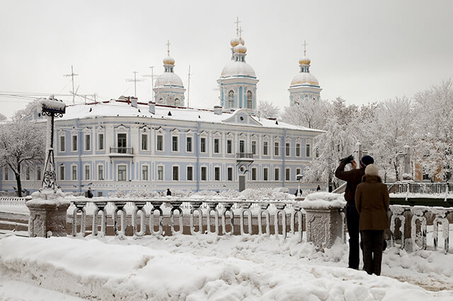 Mùa đông ở Nga nổi tiếng lạnh giá nhất trên thế giới