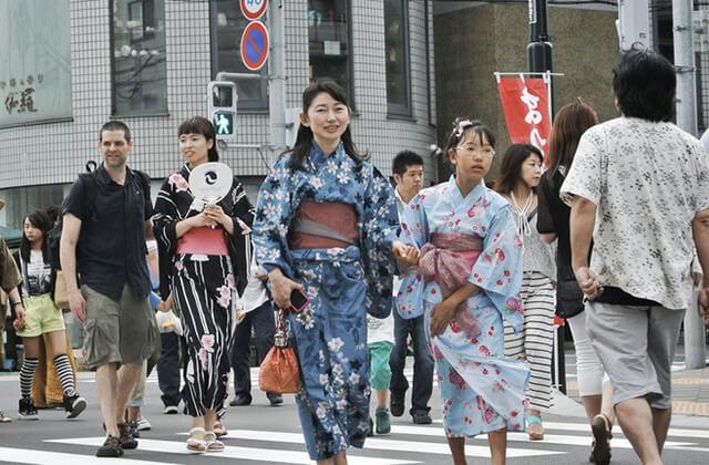 du lịch Nhật Bản mùa hè