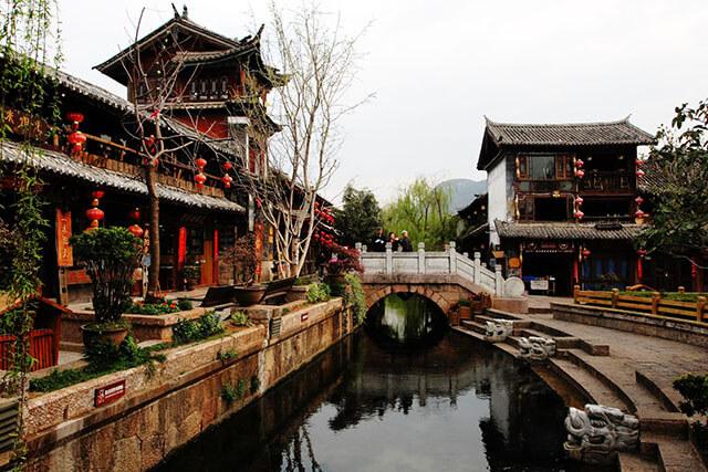 Kiến trúc ở Đường Tứ Phương mang đậm dấu ấn của thời nhà Thanh và nhà Minh, Trung Quốc
