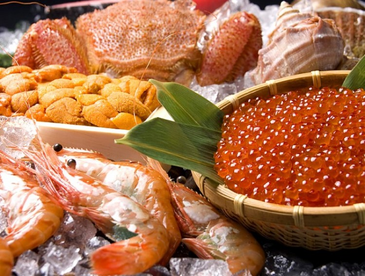 hải sản ở Hokkaido