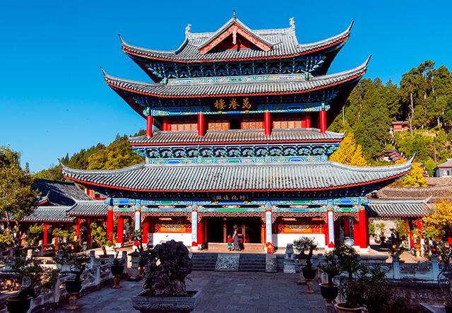 Mộc Phù là công trình nổi tiếng, nhất định phải ghé khi du lịch đến Lệ Giang