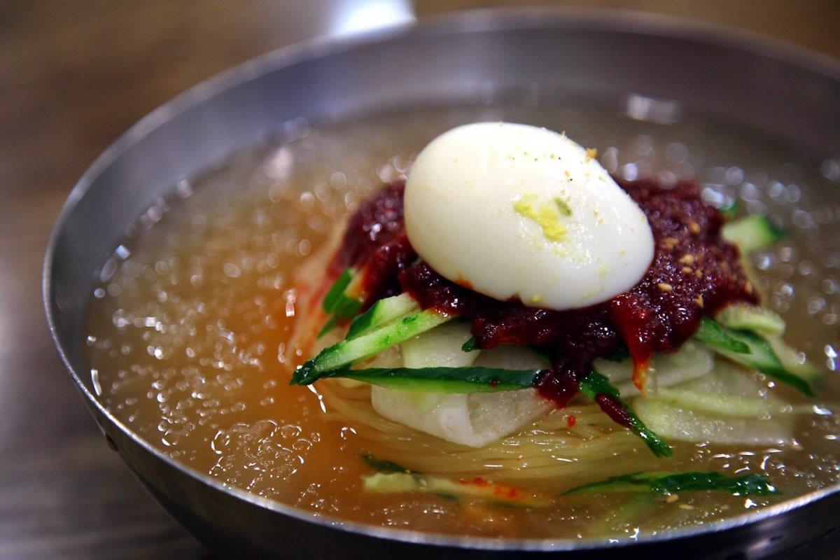 Mì lạnh Bibim Dangmyeon