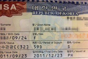 Visa du lịch Hàn Quốc và những điều cần bạn cần biết!