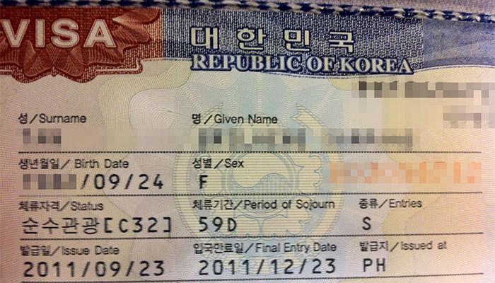 Xin visa Hàn Quốc ở đâu?