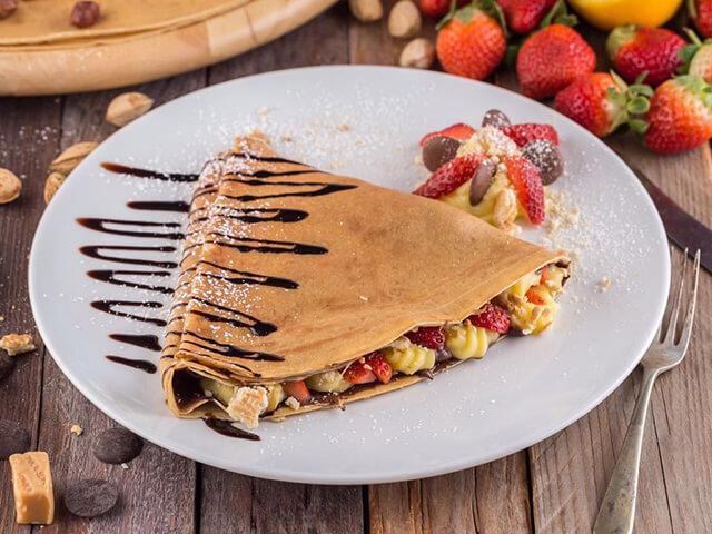 Bánh Crepa (Kếp)Pháp cực kì nổi tiếng