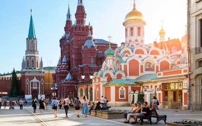 Moscow Nga mùa hè