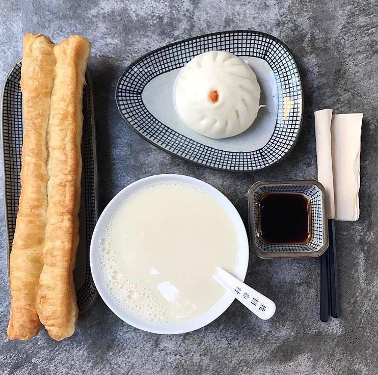 Bánh quẩy và sữa đậu nành