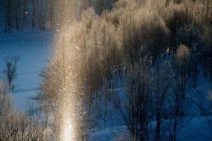 Tận hưởng bụi kim cương trong mùa đông giá lạnh tại Hokkaido, Nhật Bản