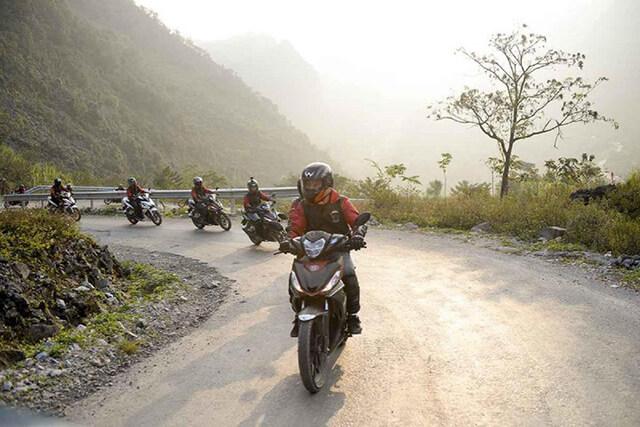 Đi du lịch Sapa bằng xe máy bạn cần thông thạo đường và có tay lái thật vững vàng