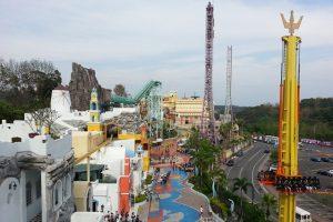 Thỏa thích vui chơi tại công viên EDa World Theme Park, Đài Loan