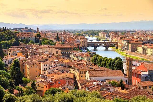 Thành phố Florence tuyệt đẹp của Ý nổi tiếng với nhiều công trình, kiến trúc, di sản thế giới