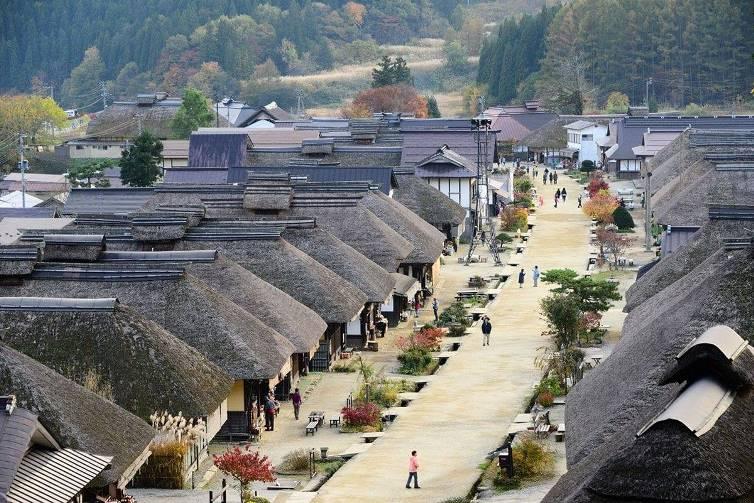 Làng Ouchi – Juku