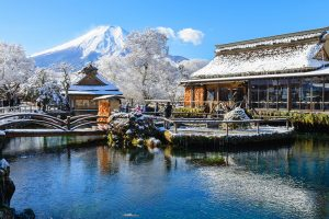 Khám phá các ngôi làng có mùa đông tuyệt đẹp khi đi du lịch Nhật Bản
