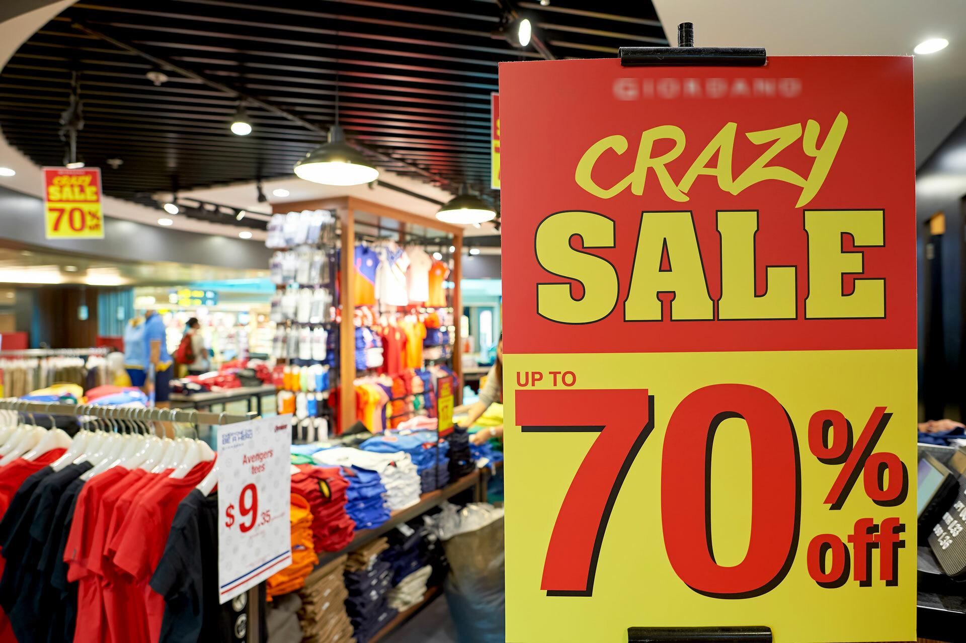 Mua sắm đồ hiệu giá rẻ ở Singapore