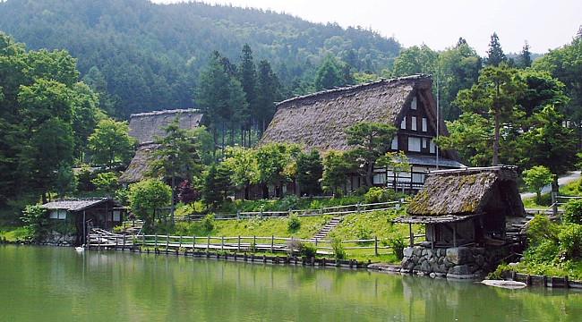 ngôi làng cổ Hida
