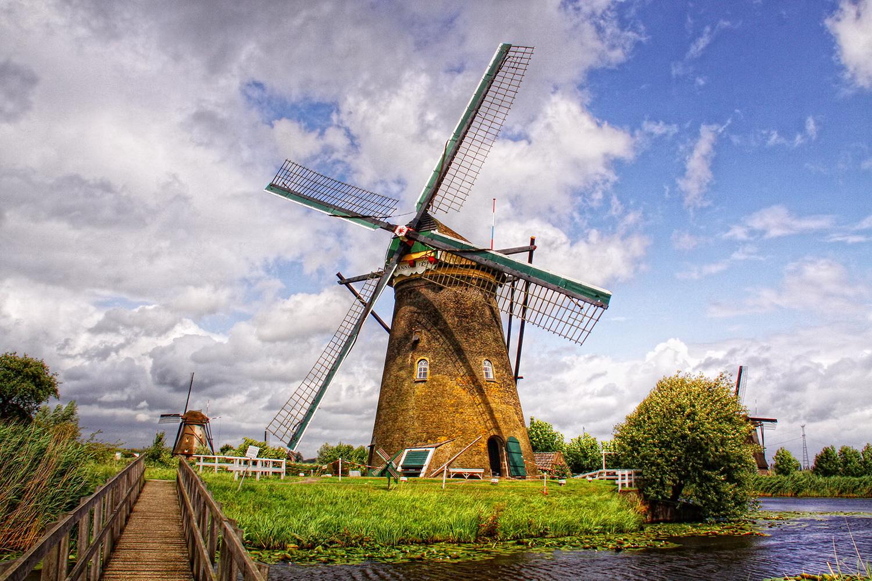 ngôi làng Kinderdijk