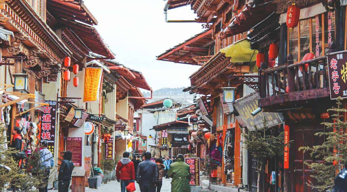 khu phố cổ Dukezong